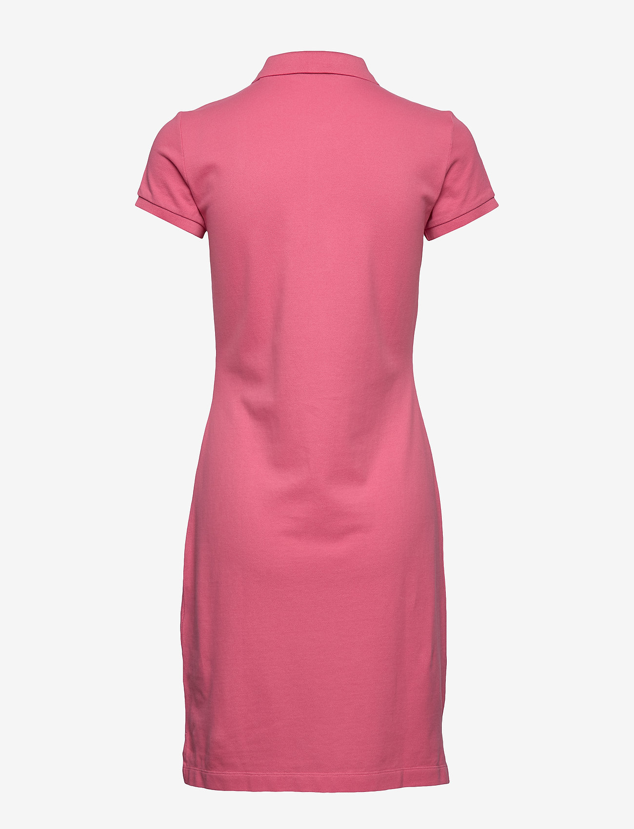 Gant - THE ORIGINAL PIQUE SS DRESS - korta klänningar - rapture rose