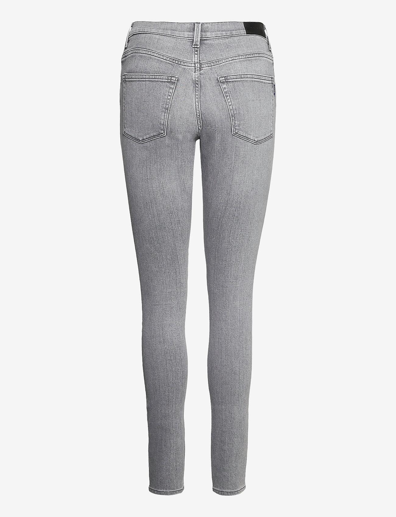 GANT - SKINNY SUPER STRETCH JEANS - skinny jeans - grey worn in - 1