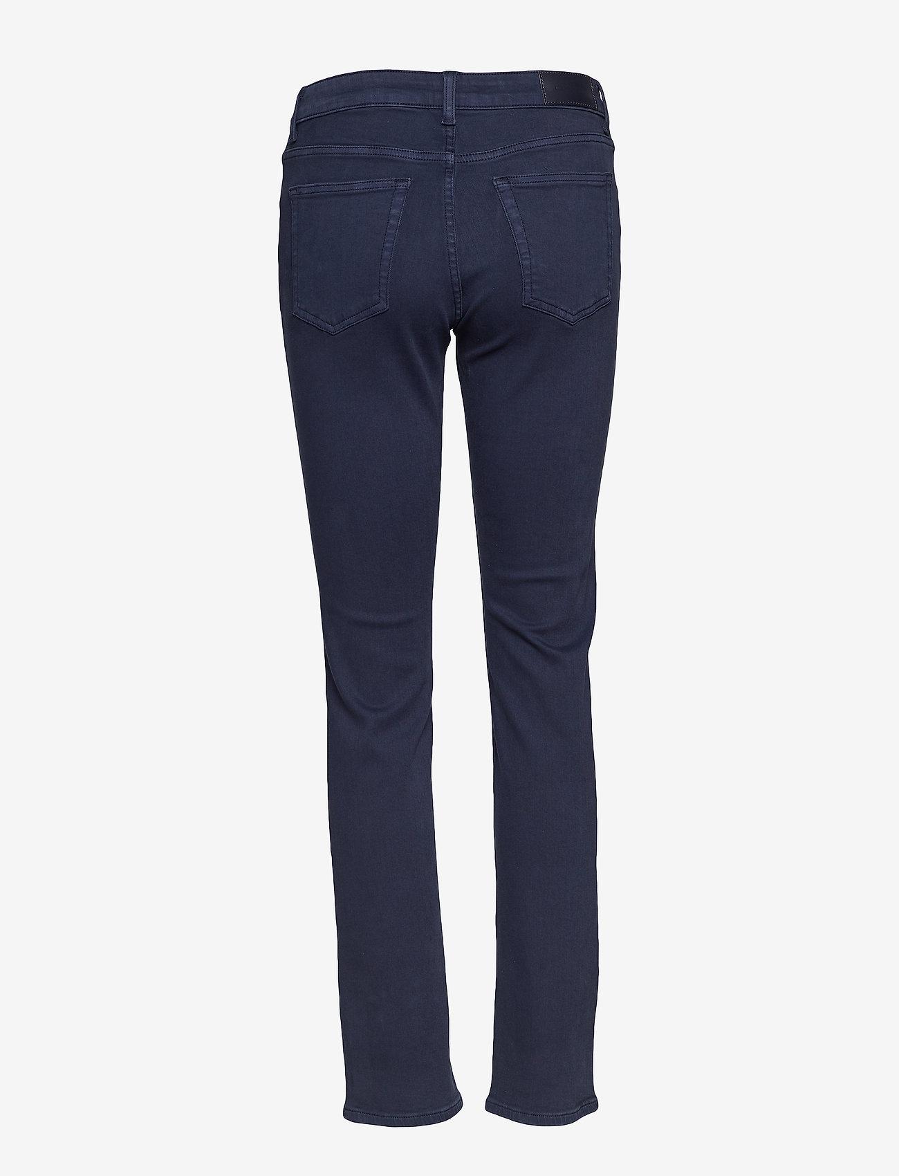 GANT - SLIM TWILL JEANS - slim jeans - marine - 1