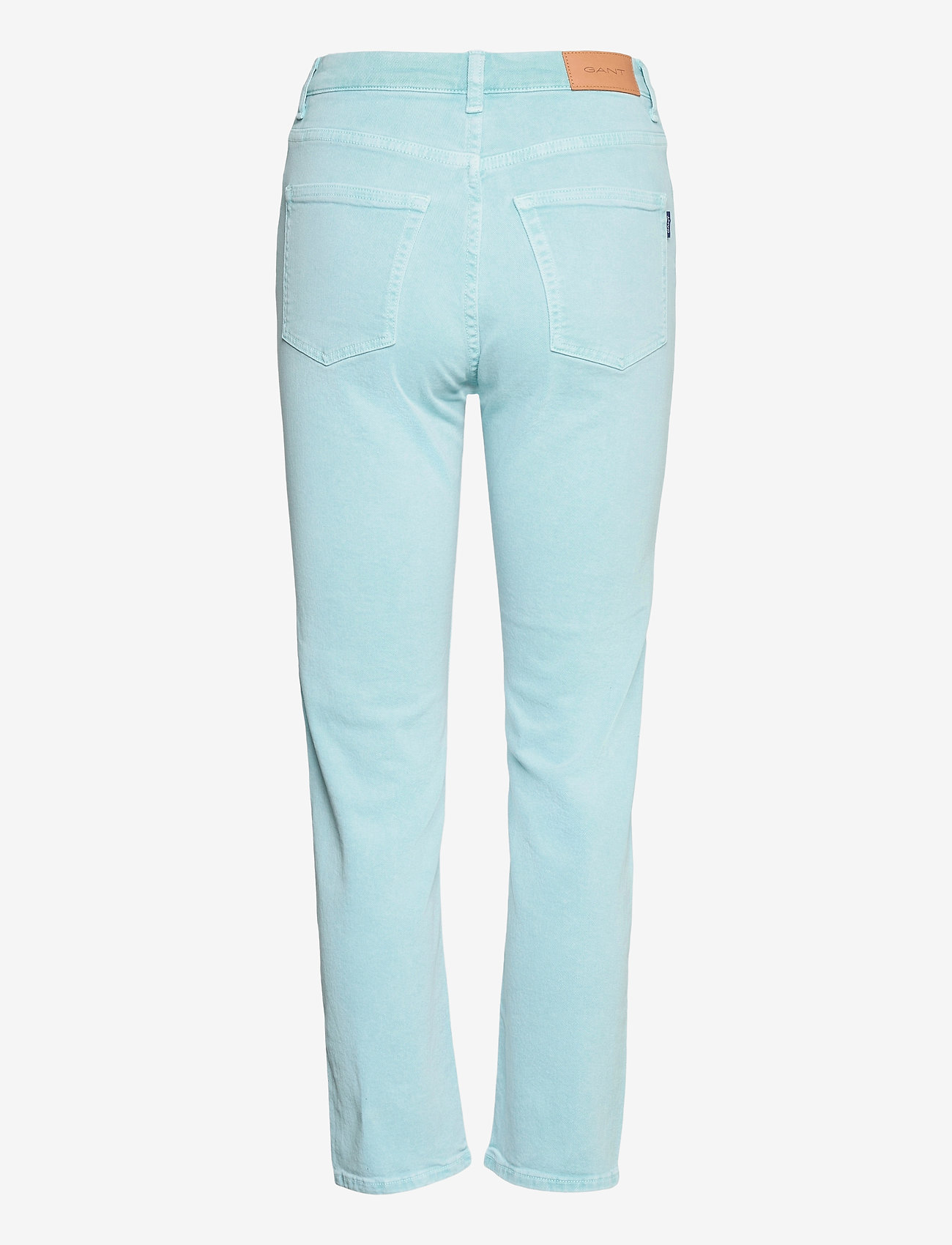 GANT - D1. HW SLIM CROPPED COLOUR JEANS - slim jeans - aquatic blue - 1