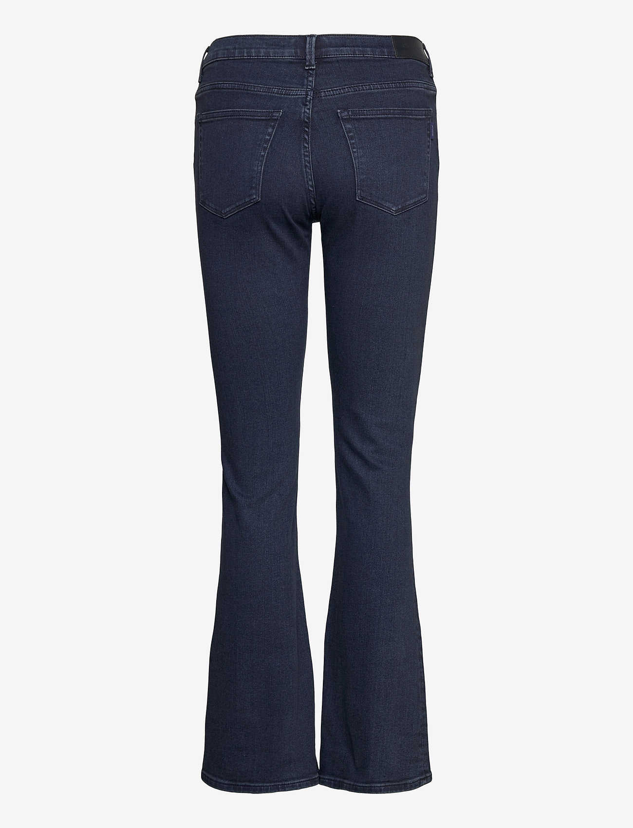 GANT - D1. SLIM BOOTCUT JEANS - boot cut jeans - dark blue broken in - 1