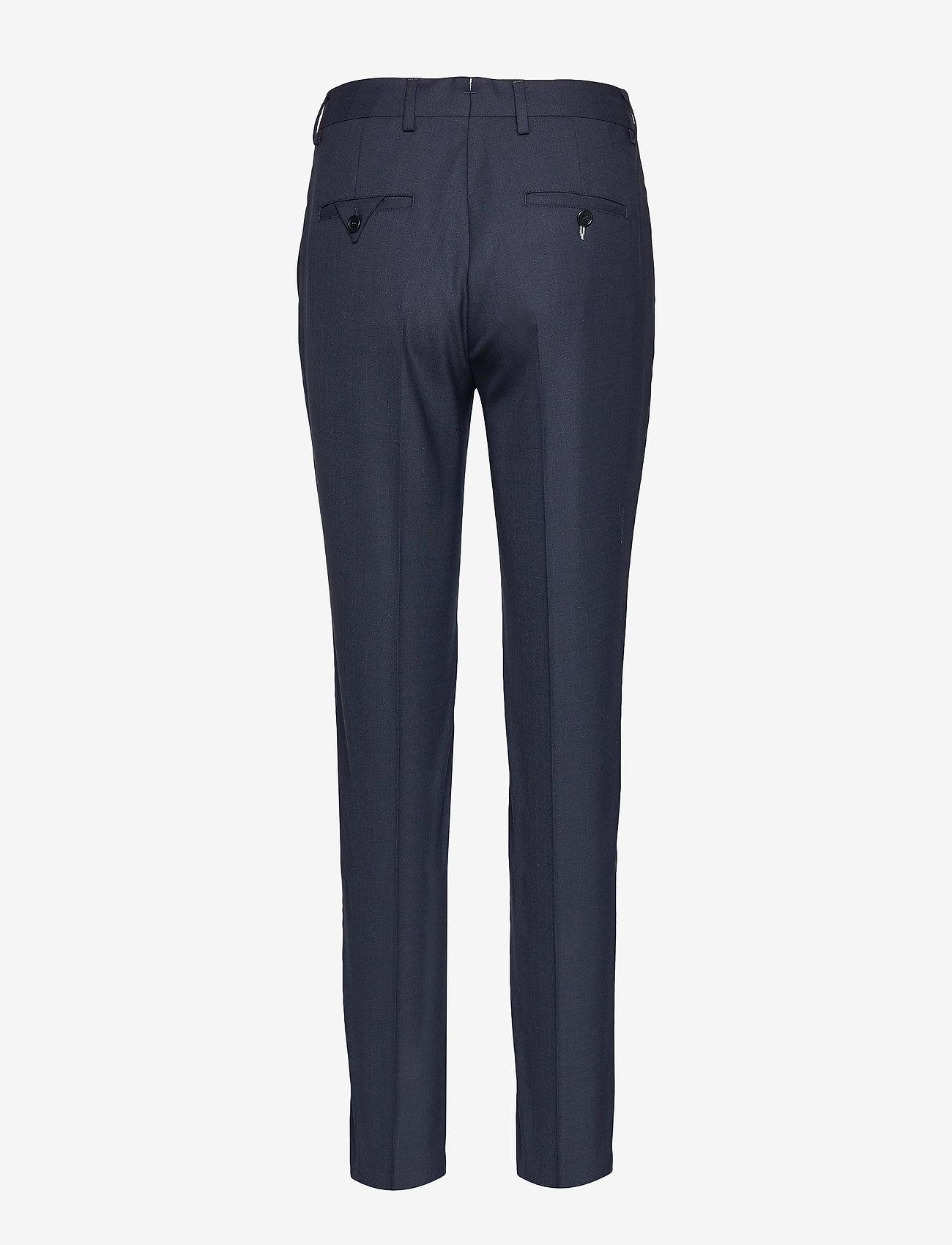 Gant - CLUB PANTS - suorat housut - marine