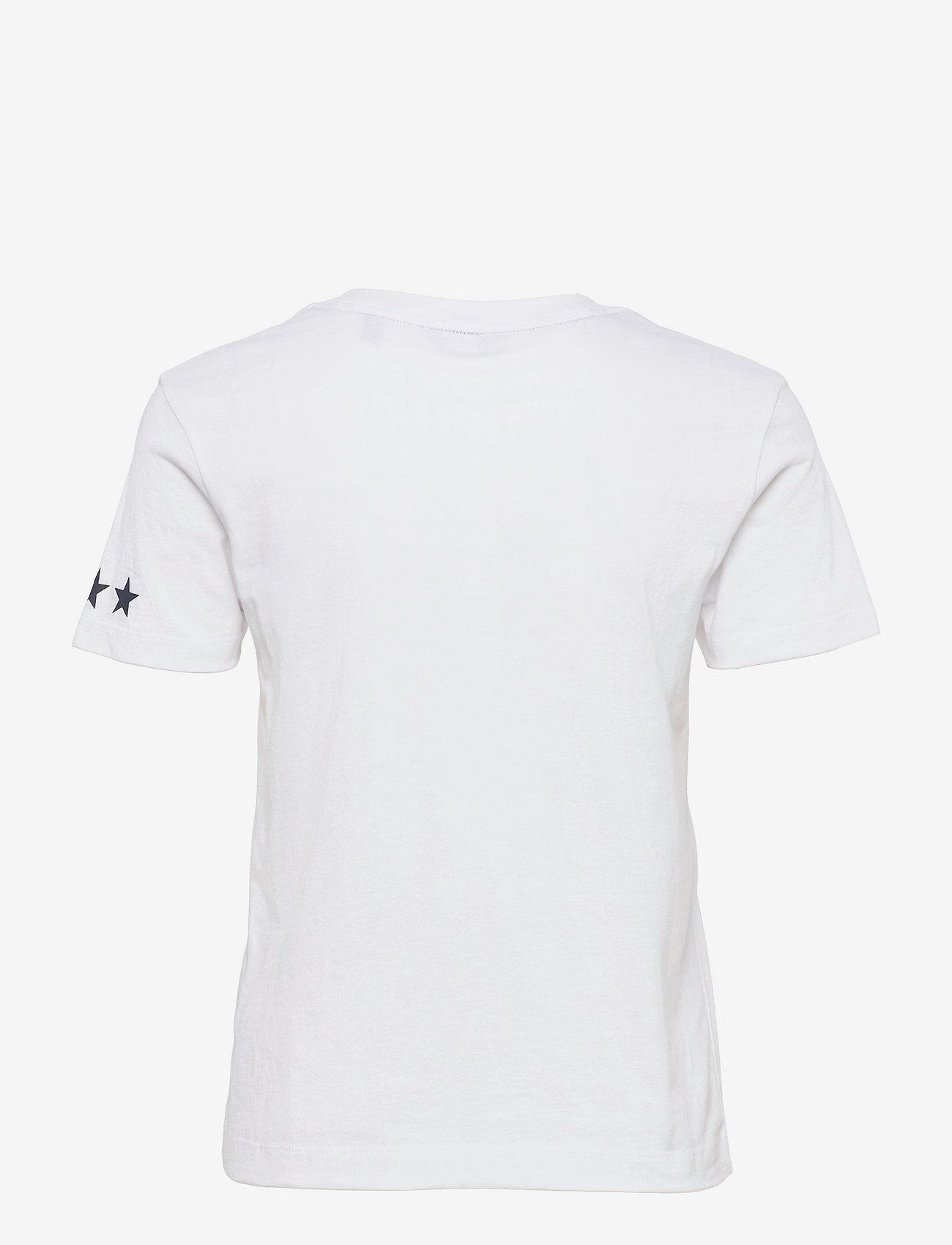 GANT - D2.GANT RETRO SHIELD SS T-SHIRT - t-shirts - white - 1
