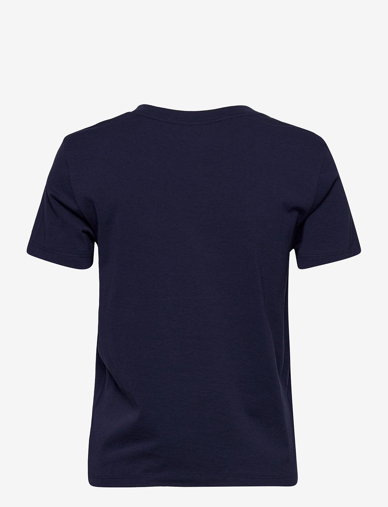 GANT - ARCHIVE SHIELD SS T-SHIRT - t-shirts - evening blue - 1