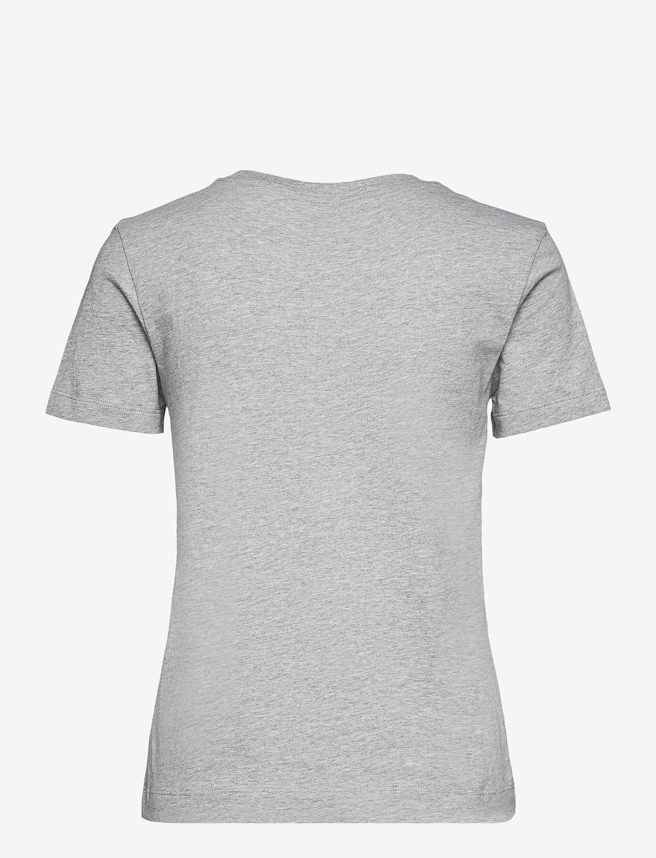 GANT - ARCHIVE SHIELD SS T-SHIRT - t-shirts - grey melange - 1