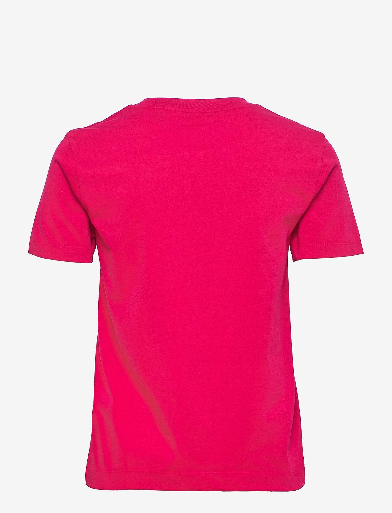 GANT - ARCHIVE SHIELD SS T-SHIRT - t-shirts - raspberry red - 1
