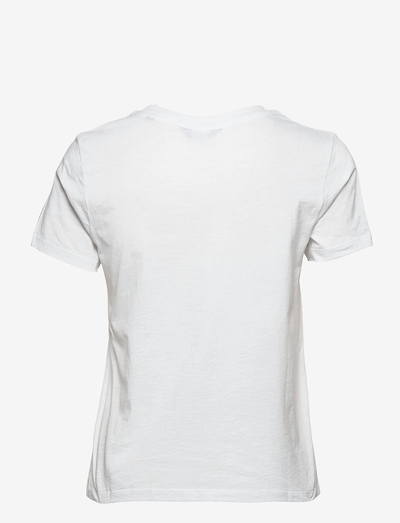 GANT - ARCHIVE SHIELD SS T-SHIRT - t-shirts - white - 1
