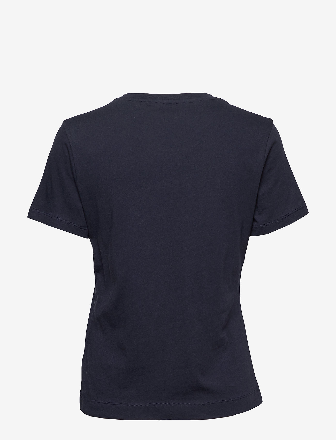 Gant - ORIGINAL SS T-SHIRT - basic t-shirts - evening blue