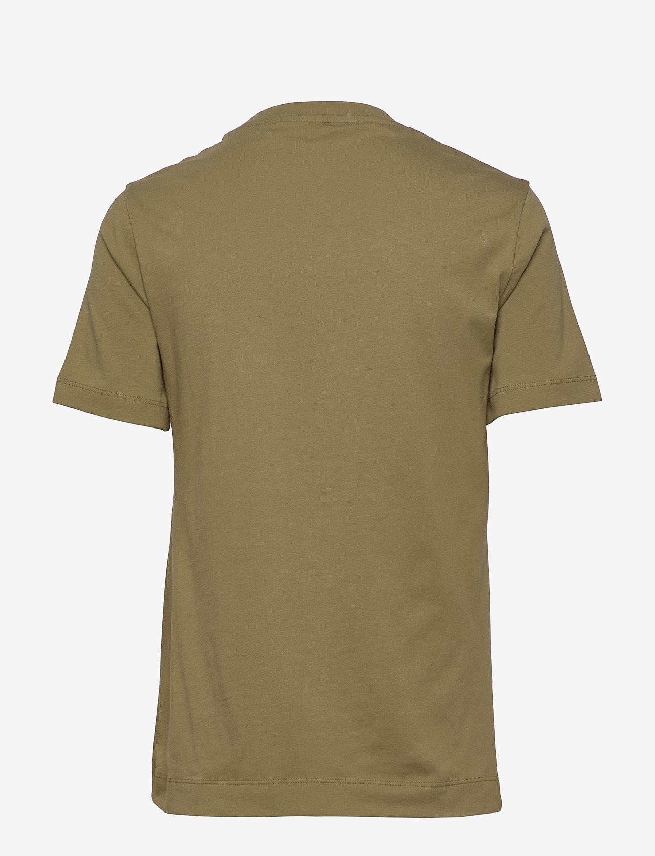 GANT - ORIGINAL SS T-SHIRT - basic t-shirts - olive green - 1