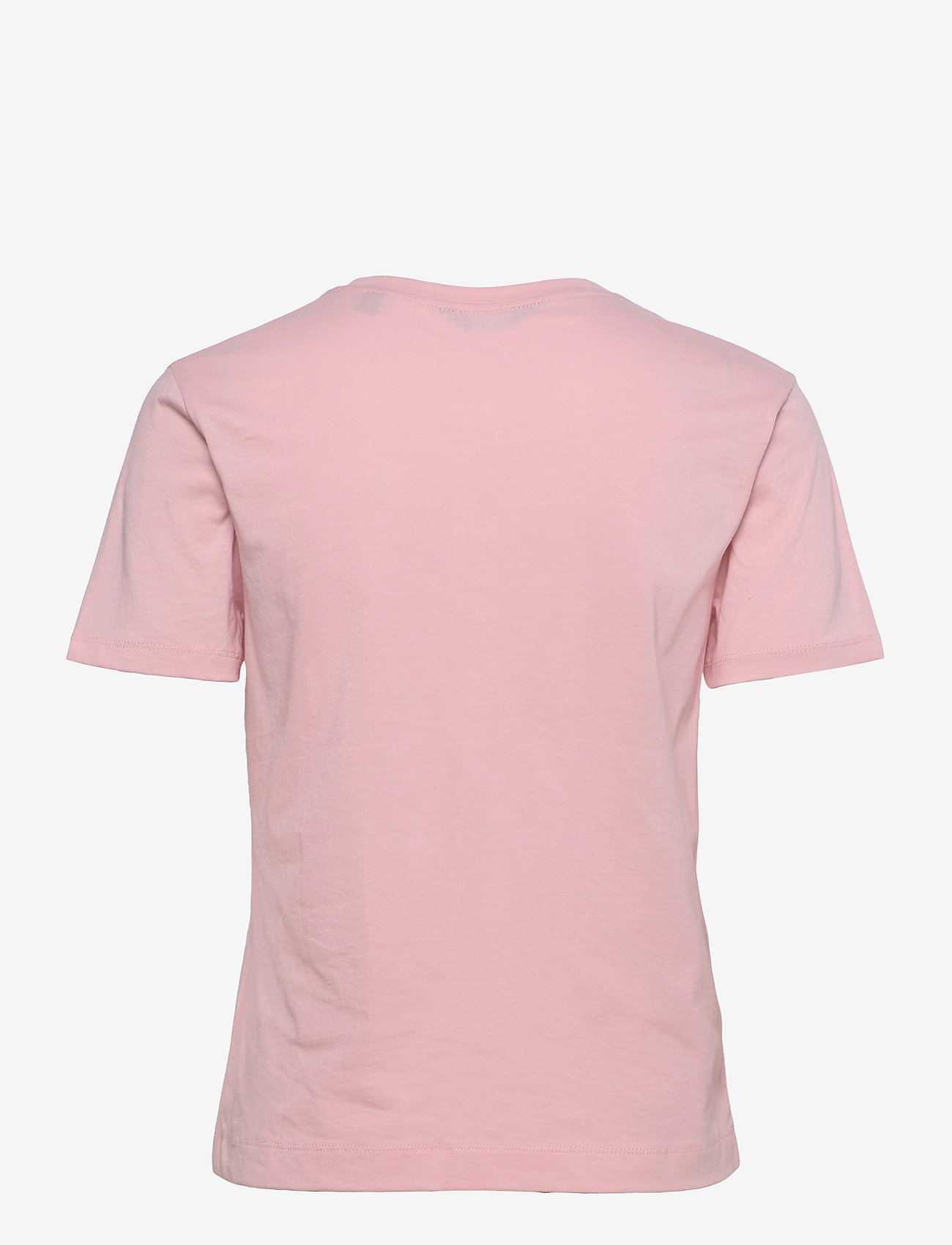 GANT - ORIGINAL SS T-SHIRT - t-shirts - preppy pink - 1