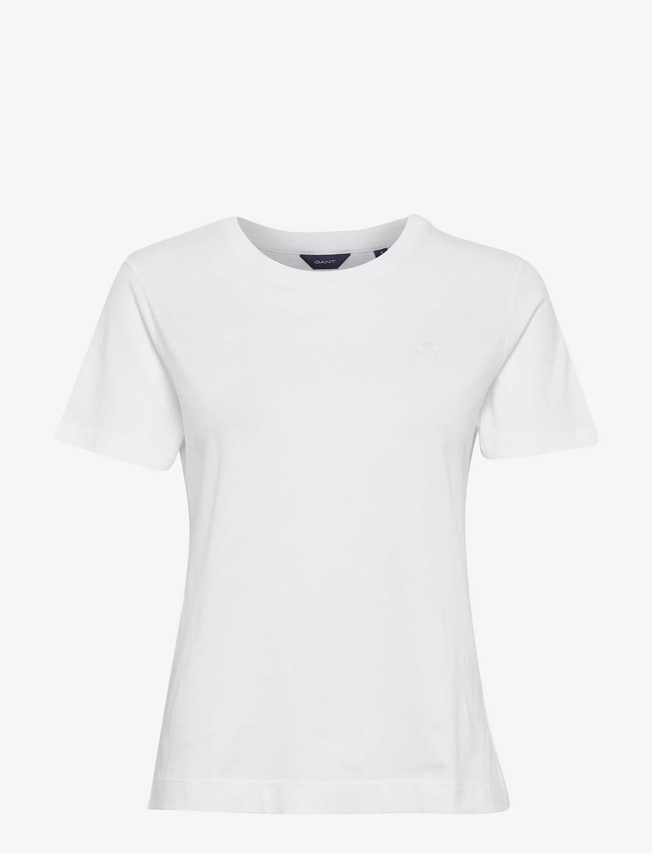 Gant - ORIGINAL SS T-SHIRT - basic t-shirts - white