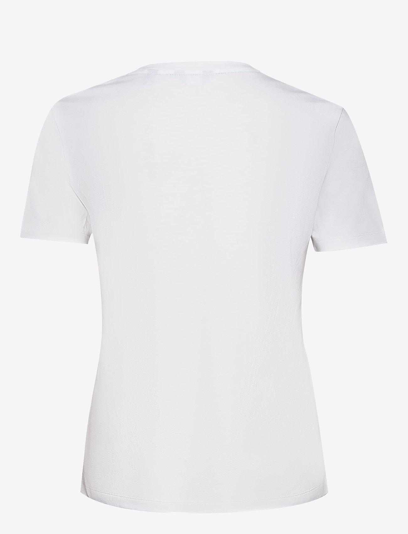 GANT - D1. 13 STRIPES SS T-SHIRT - t-shirts - white - 1