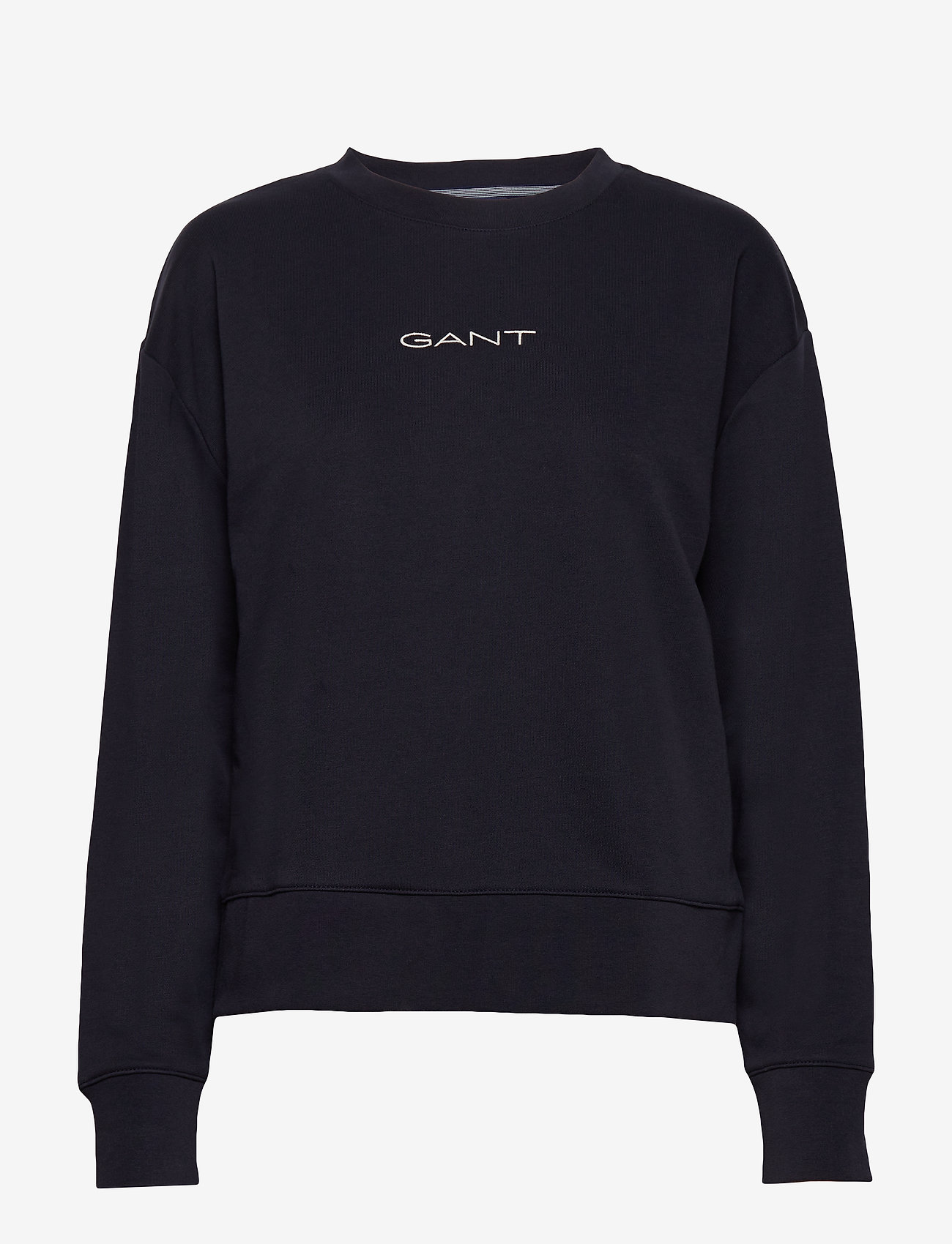 GANT - D1. 13 STRIPES C-NECK SWEAT - sweatshirts - evening blue - 0