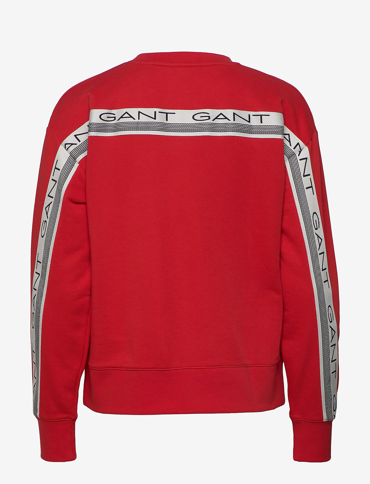 GANT - D1. 13 STRIPES C-NECK SWEAT - sweatshirts - fiery red - 1
