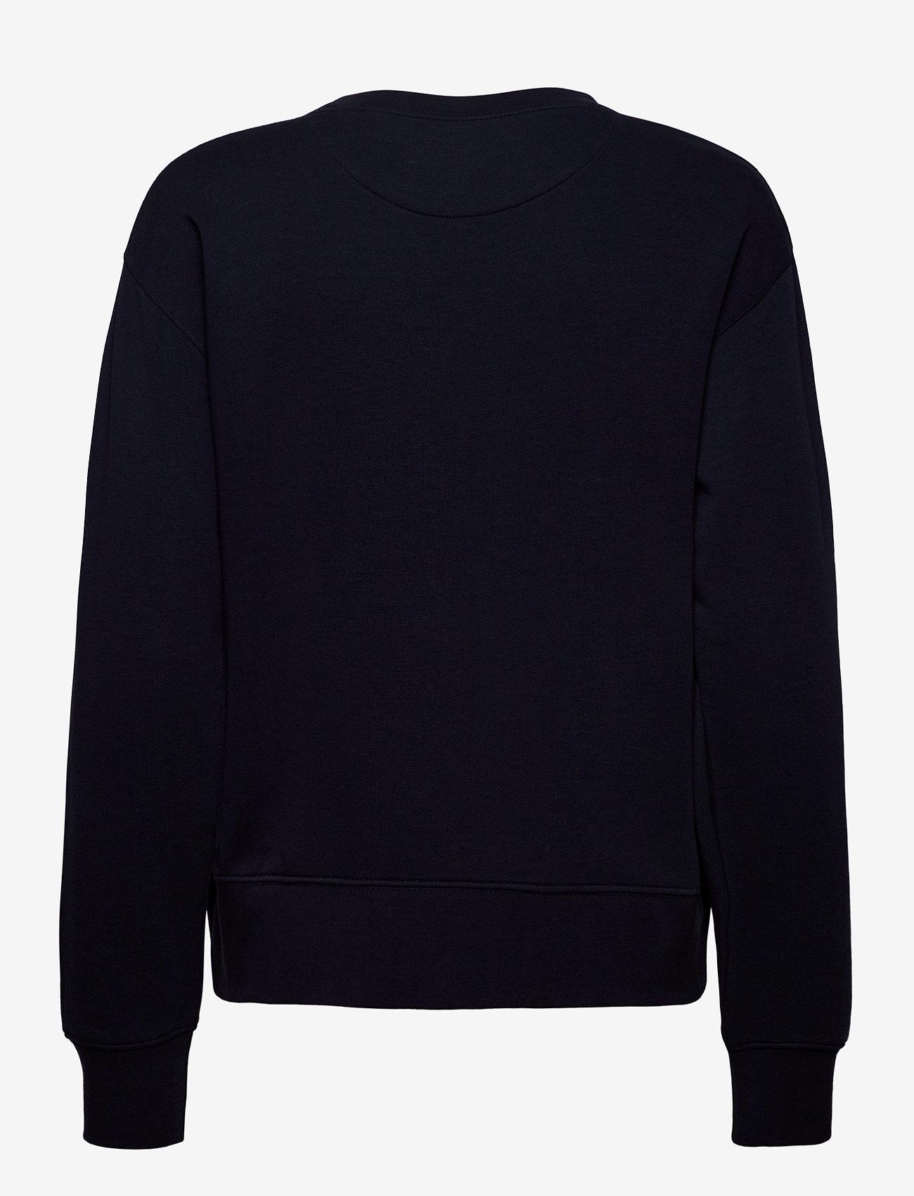 GANT - ORIGINAL C-NECK SWEAT - sweatshirts - evening blue - 1