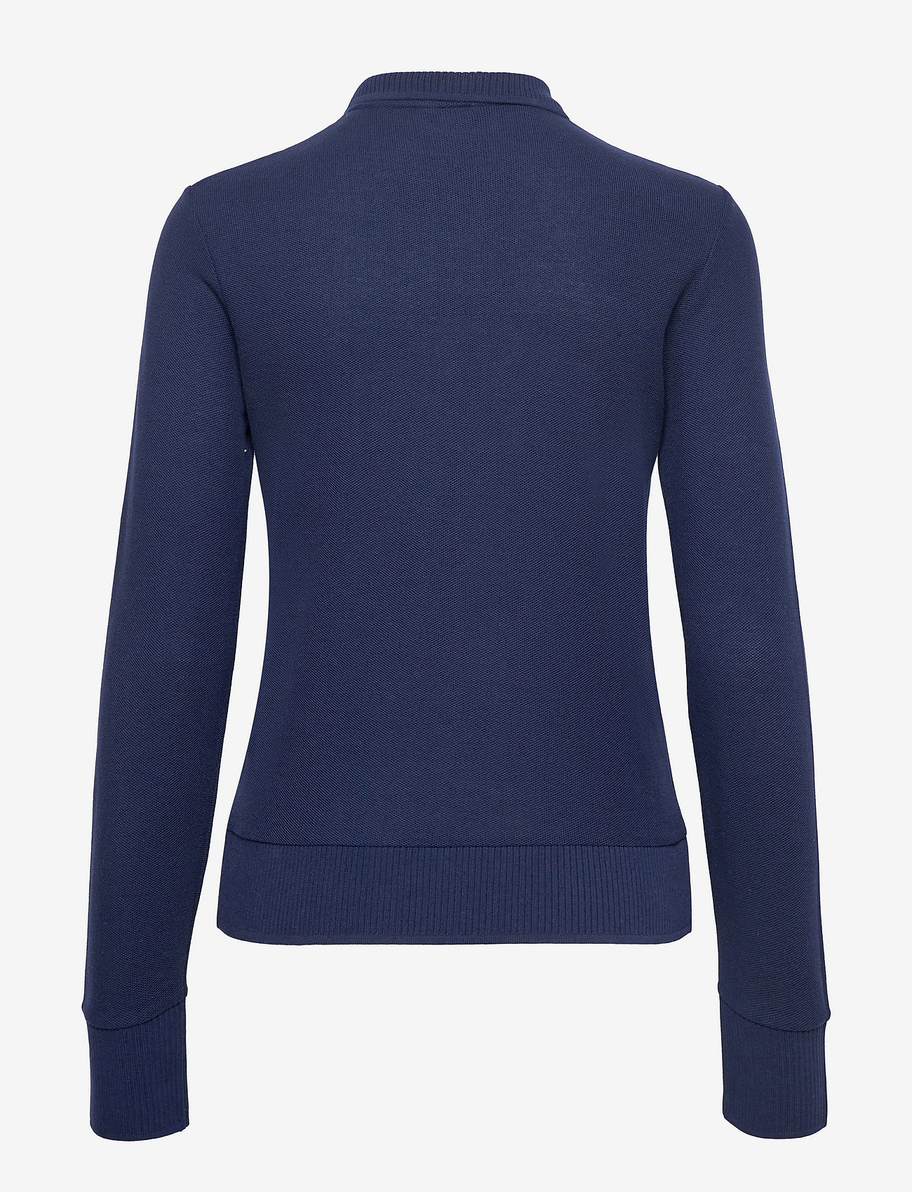 GANT - D1. CROWN EMBROIDERY POLO PIQUE - t-shirt & tops - evening blue - 1