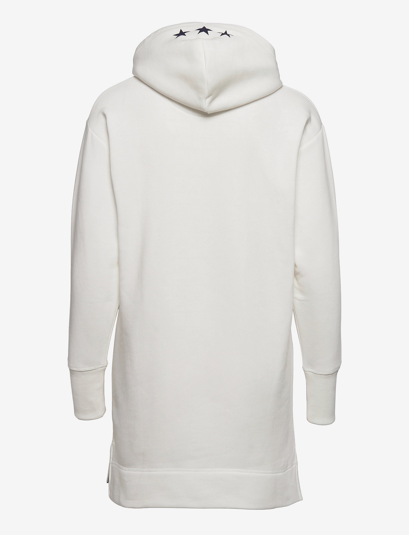 GANT - D2. GANT RETRO SHIELD HOODIE DRESS - t-shirt dresses - eggshell - 1
