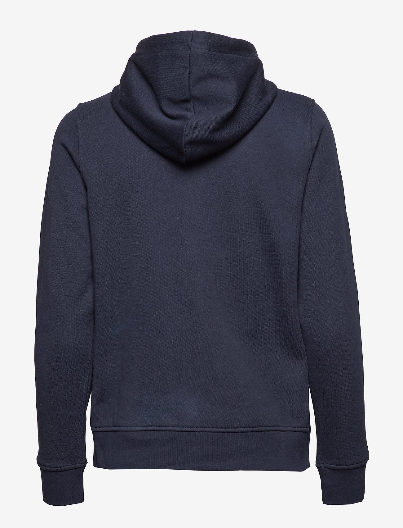 Gant Tonal Shield Full Zip Hoodie - Sweatshirts