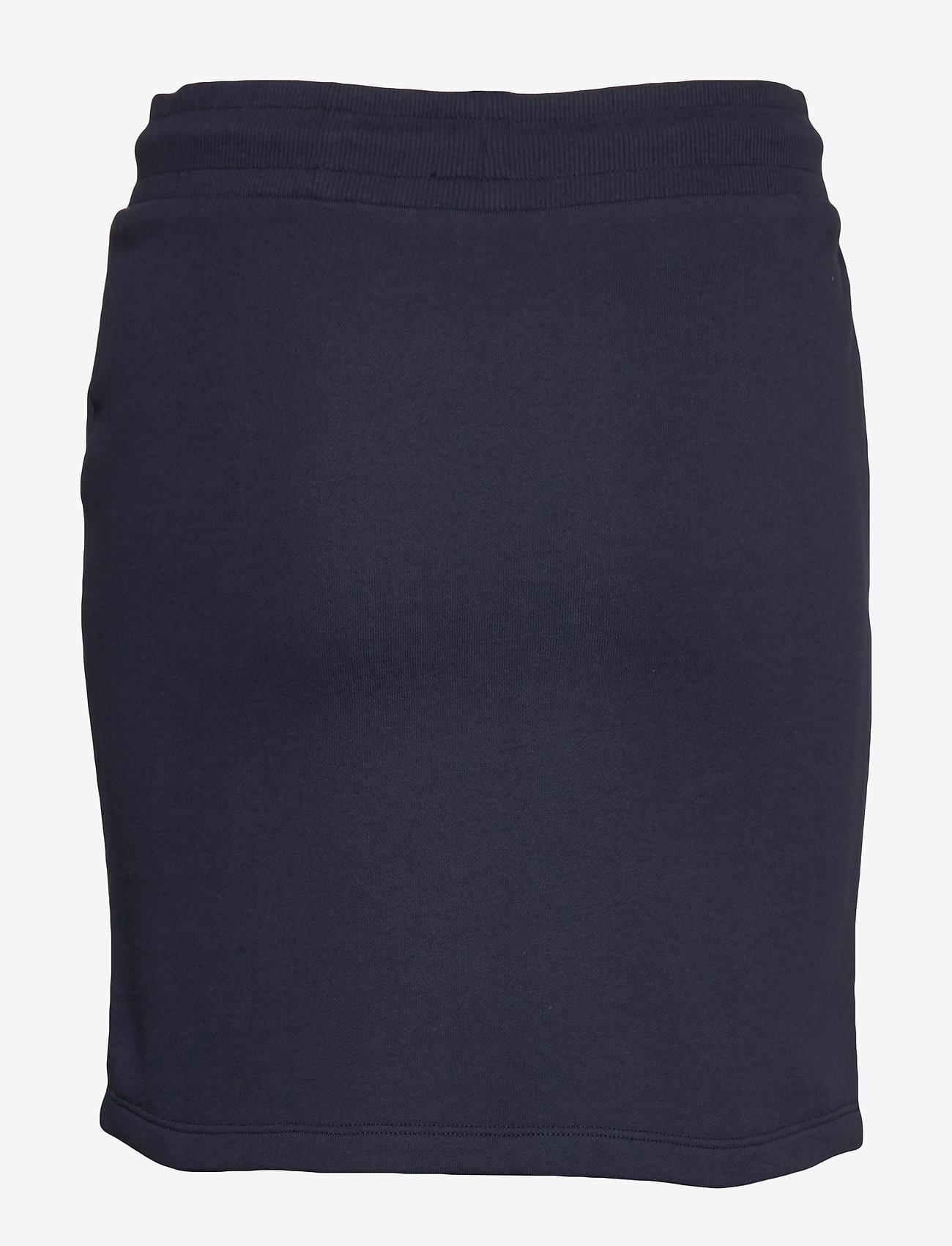 Gant - D1. GANT LOCK UP SWEAT SKIRT - kort skjørt - evening blue