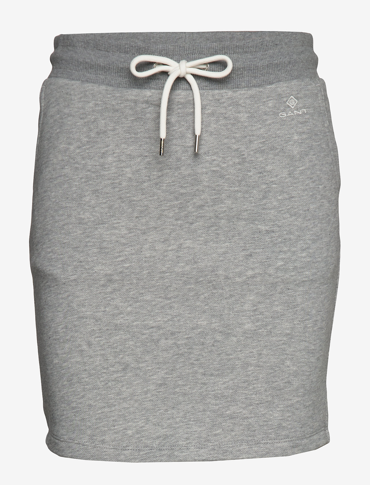 Gant - D1. GANT LOCK UP SWEAT SKIRT - korta kjolar - grey melange