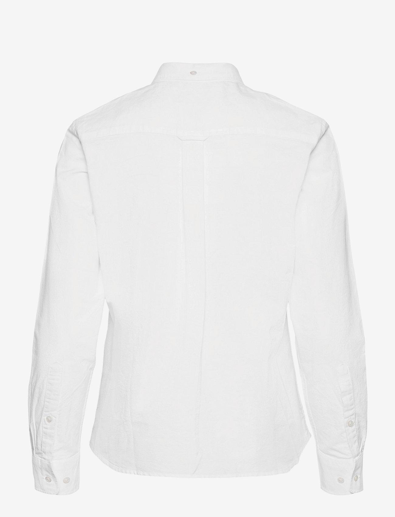 GANT - THE OXFORD SHIRT - long-sleeved shirts - white - 1