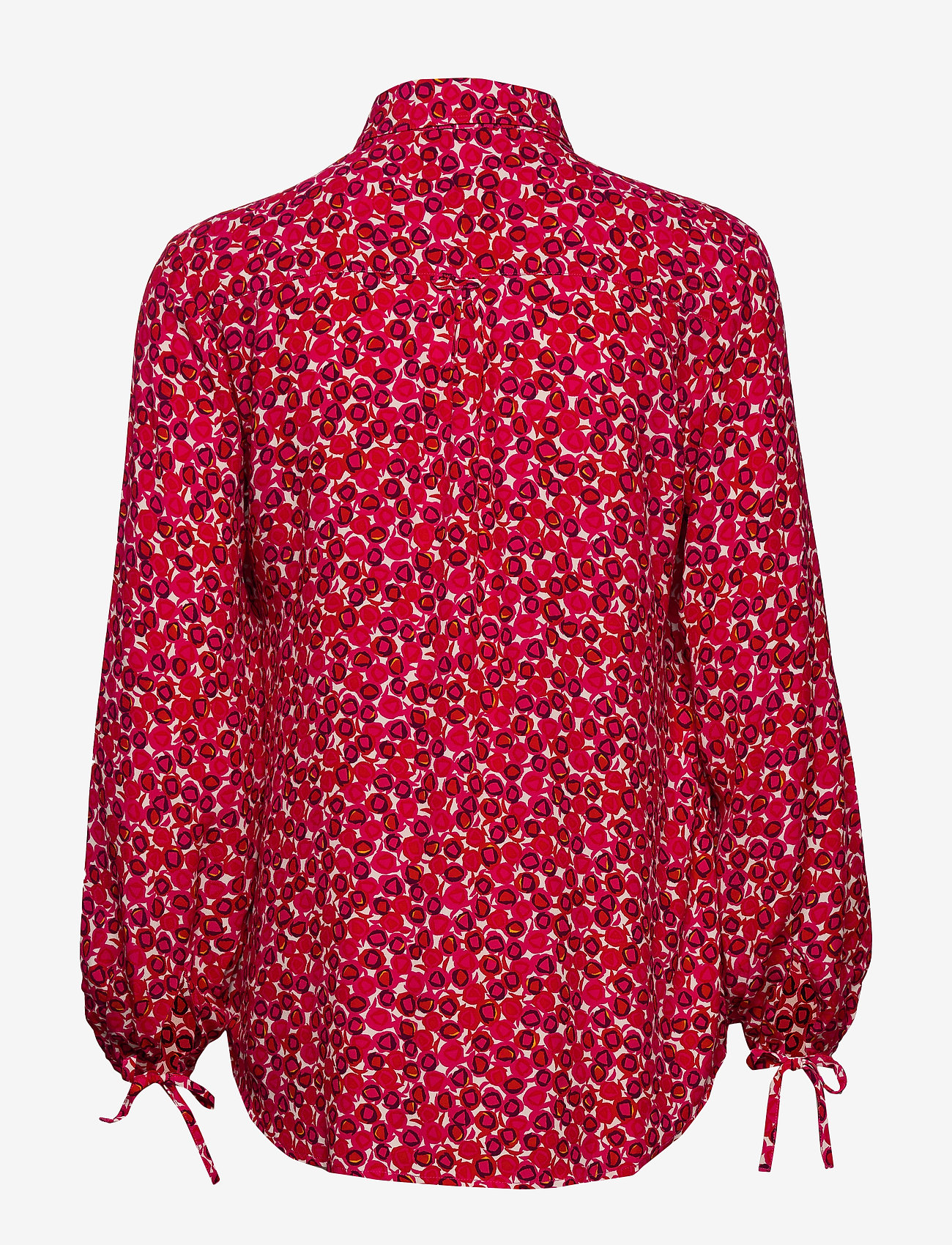 GANT - D1. DESERT ROSE VISCOSE SHIRT - long sleeved blouses - rich pink - 1