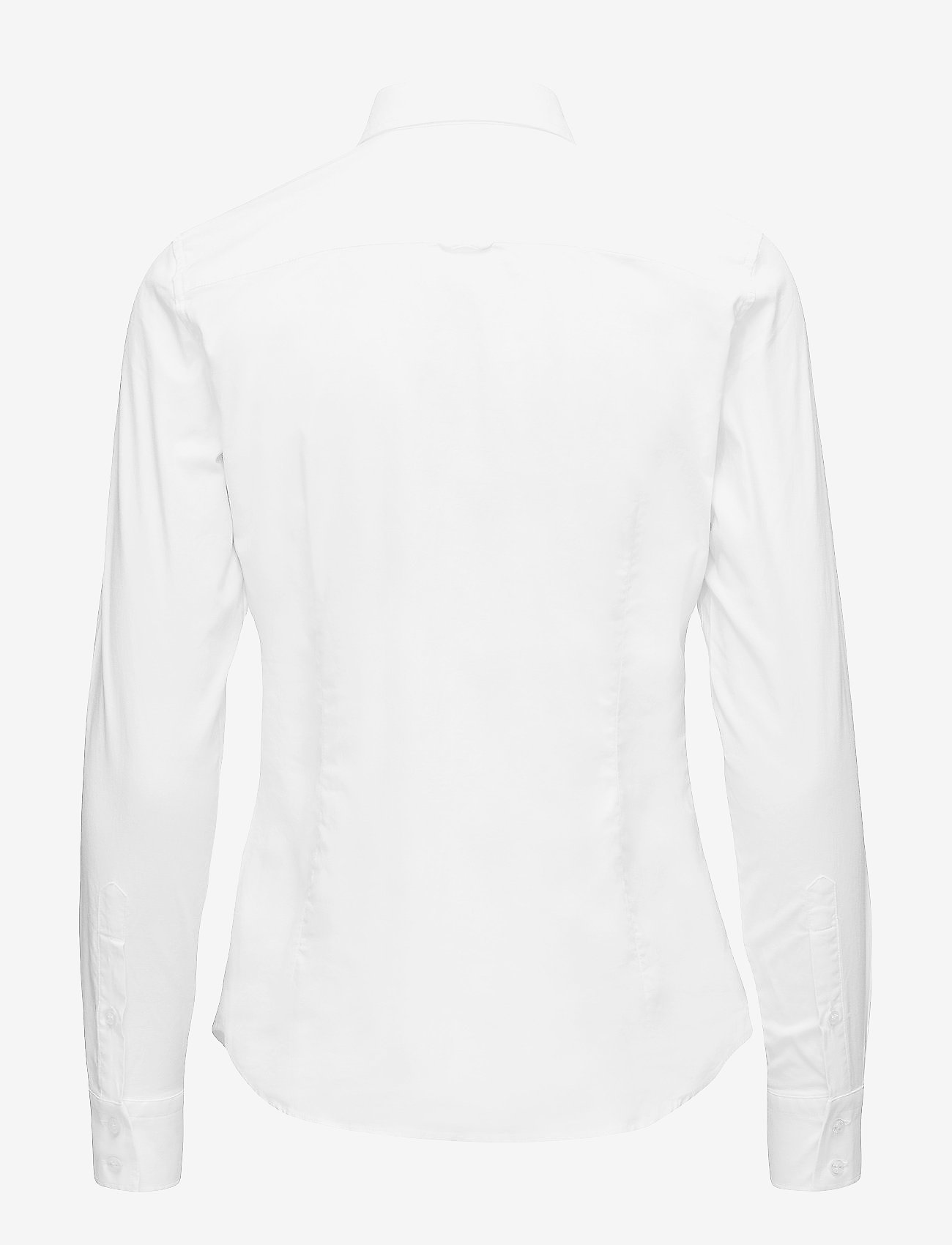 GANT - STRETCH OXFORD SOLID - long-sleeved shirts - white - 1