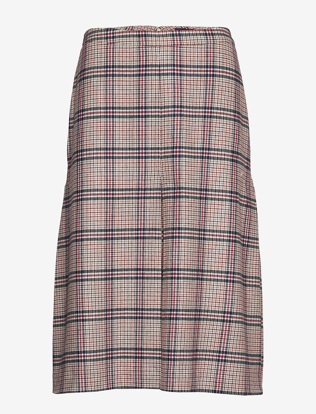 Gant - D1. WASHABLE STRETCH WOOL SKIRT - midi - warm khaki