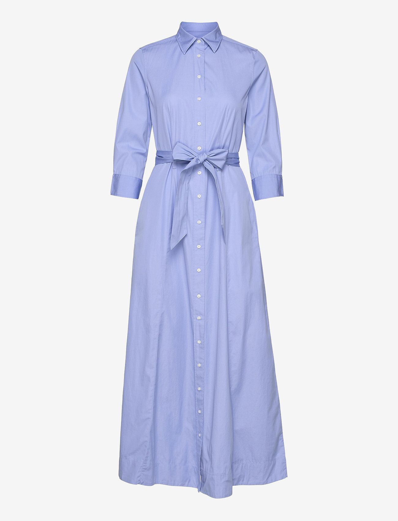 Gant - D2. MAXI SHIRT DRESS - shirt dresses - lavender blue