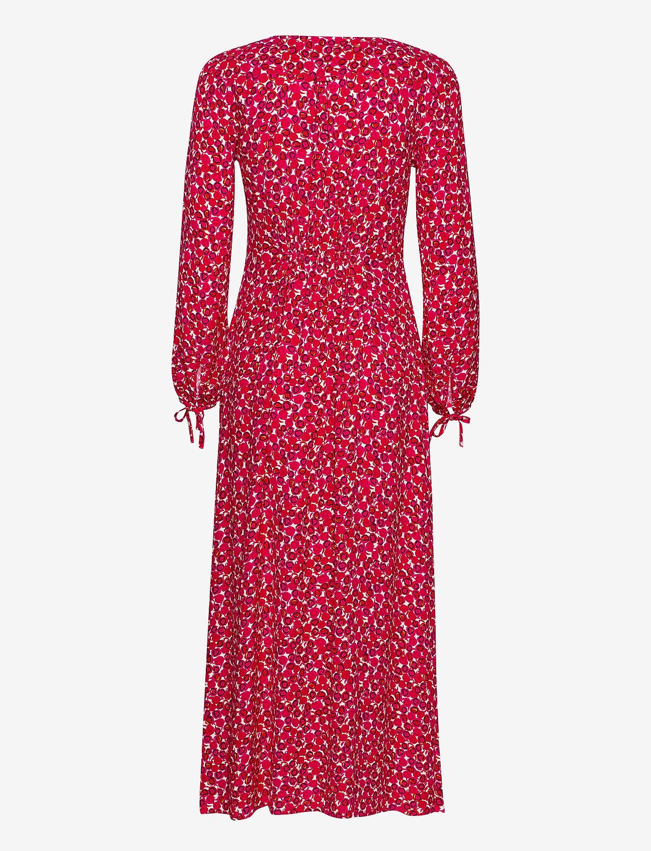 D1. Desert Rose Viscose Dress (Rich Pink) (2300 kr) - Gant