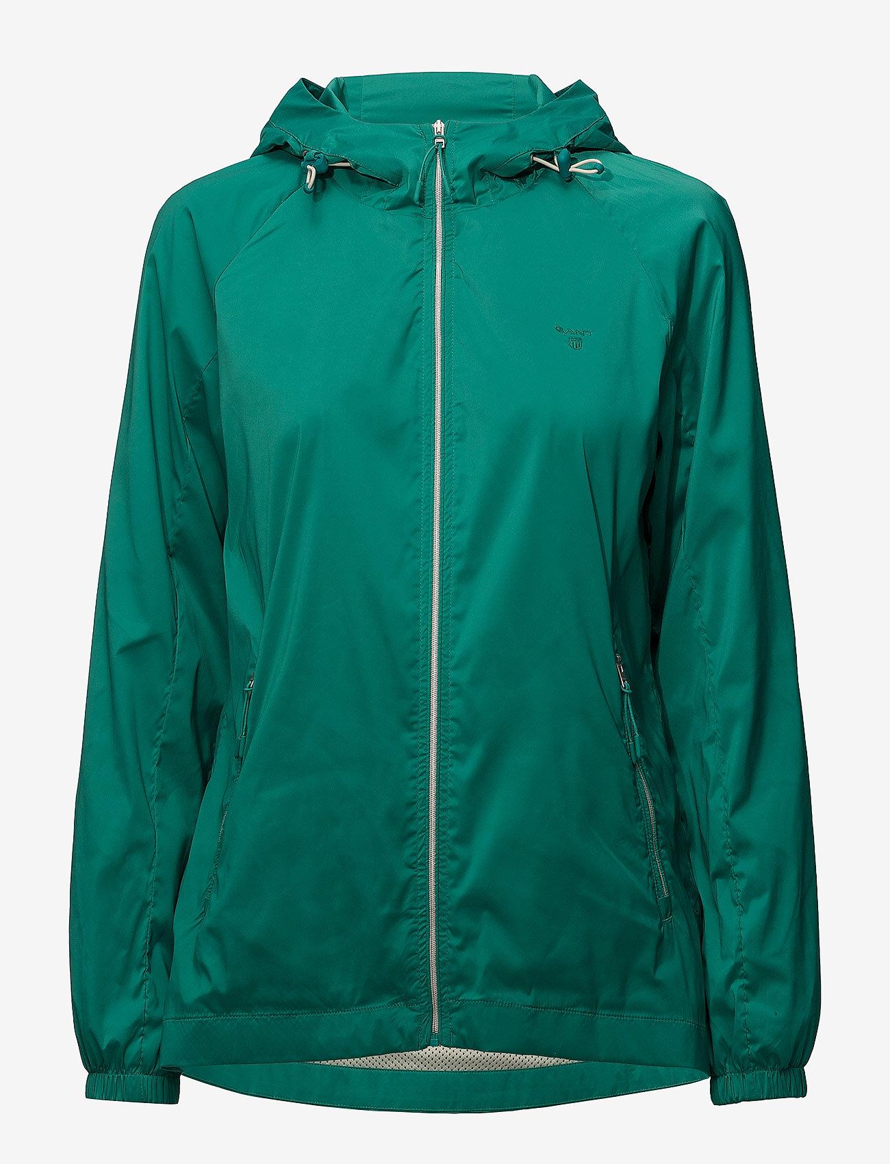 Gant - O1. WINDBREAKER - kevyet takit - emerald green
