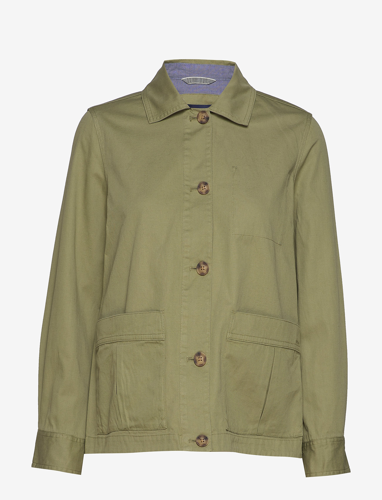 Gant - D2. SHIRT JACKET - vestes legères - oil green