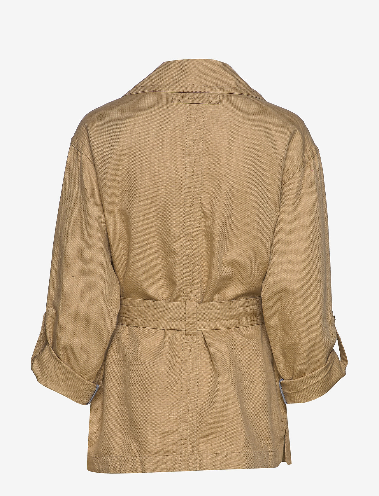 Gant - D2. BELTED FIELD JACKET - vestes legères - dark khaki