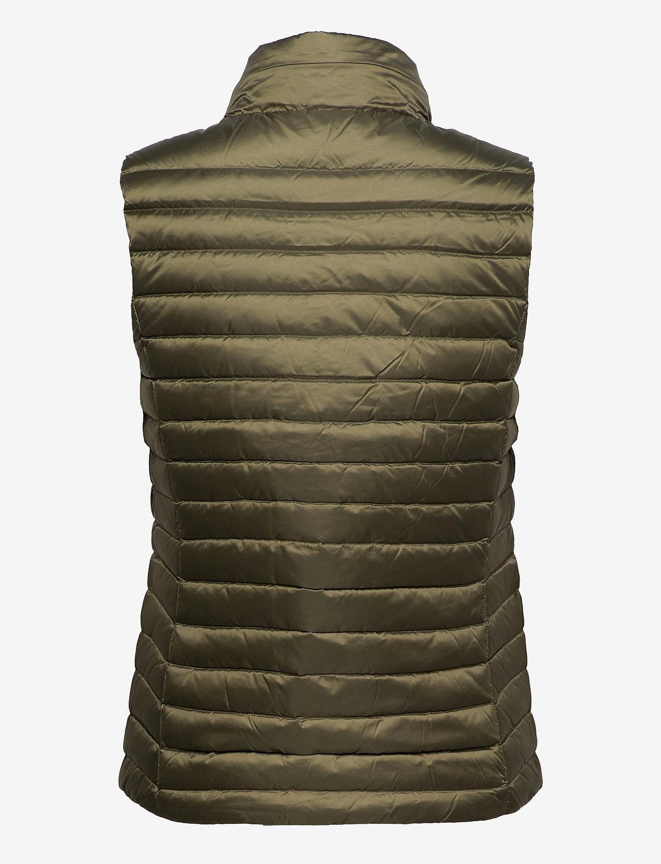 GANT - LIGHT DOWN GILET - puffer vests - racing green - 1