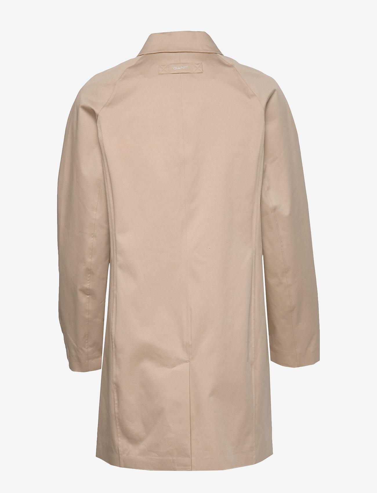 GANT - D1. TP RAIN MAC - cienkie płaszcze - dry sand - 1