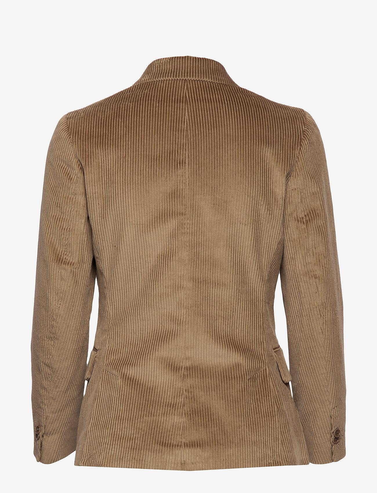 Gant - D1. WIDE WALE CORD BLAZER - bleiserit - dark khaki