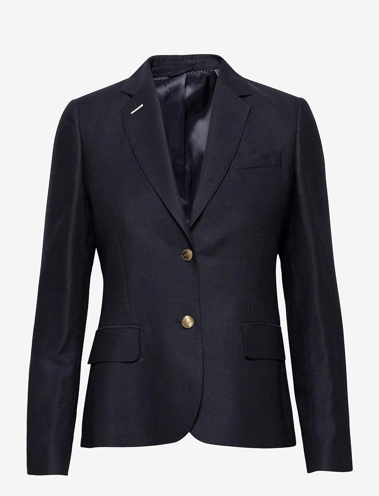 GANT - CLUB BLAZER - getailleerde blazers - evening blue - 0