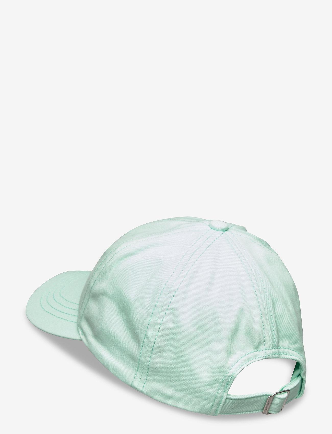 GANT - COTTON TWILL CAP - czapki - bay green - 1