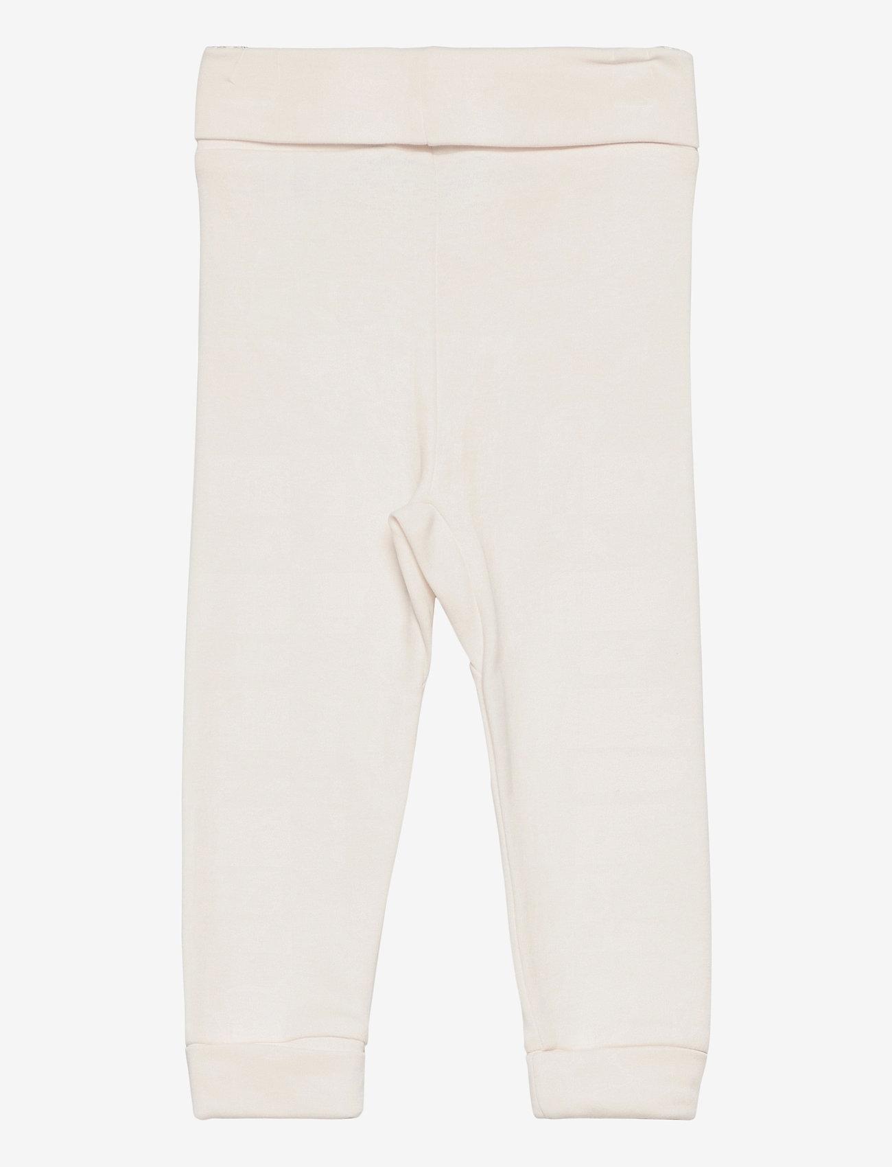 GANT - LOCK-UP ORGANIC COTTON PANTS - trousers - eggshell - 1