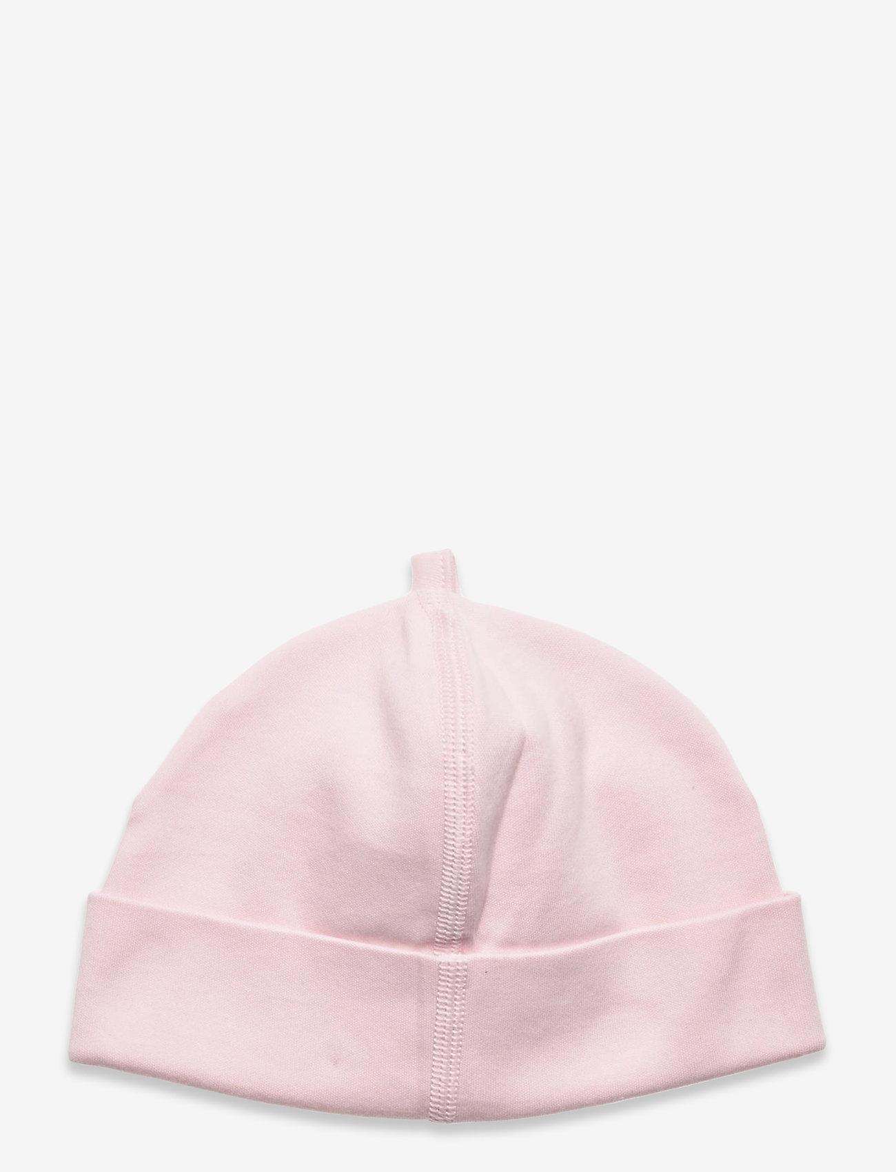 GANT - LOCK-UP ORGANIC COTTON BEANIE - hatte og handsker - crystal pink - 1