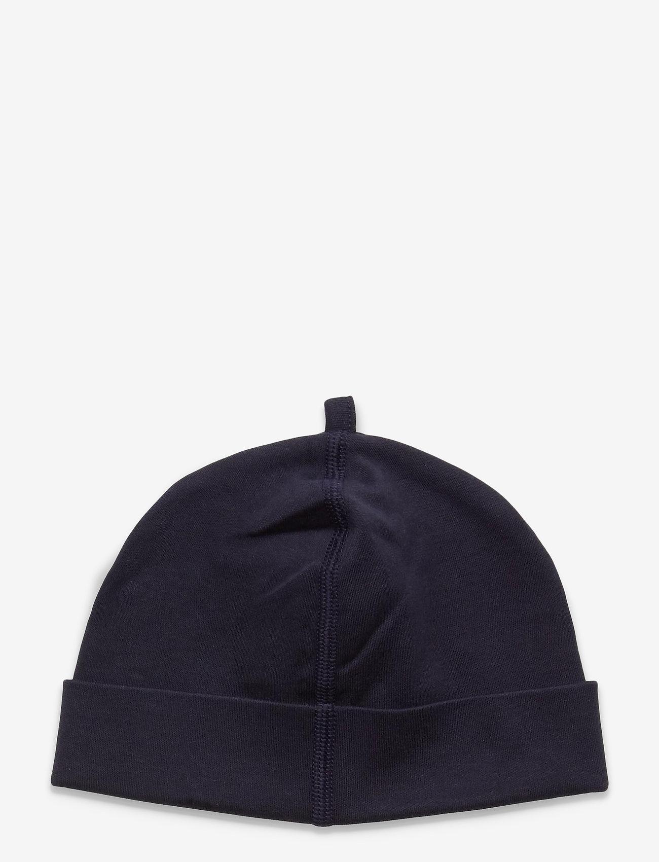 GANT - LOCK-UP ORGANIC COTTON BEANIE - hatte og handsker - evening blue - 1