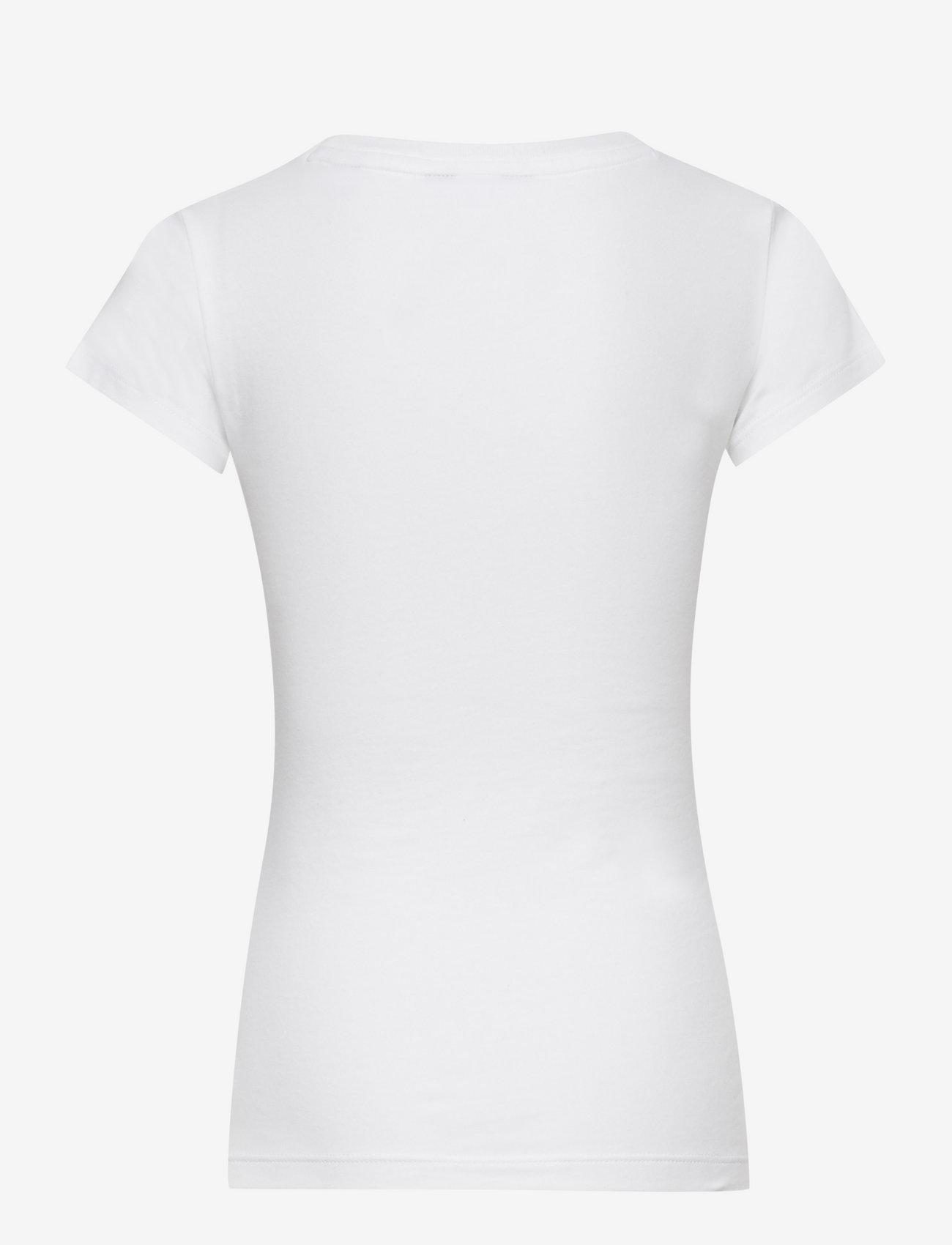 GANT - FITTED ORIGINAL SS T-SHIRT - short-sleeved - white - 1