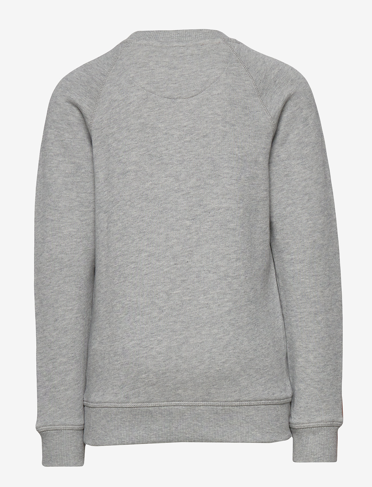 GANT - D1. GANT SCRIPT C-NECK SWEAT - sweatshirts - light grey melange - 1