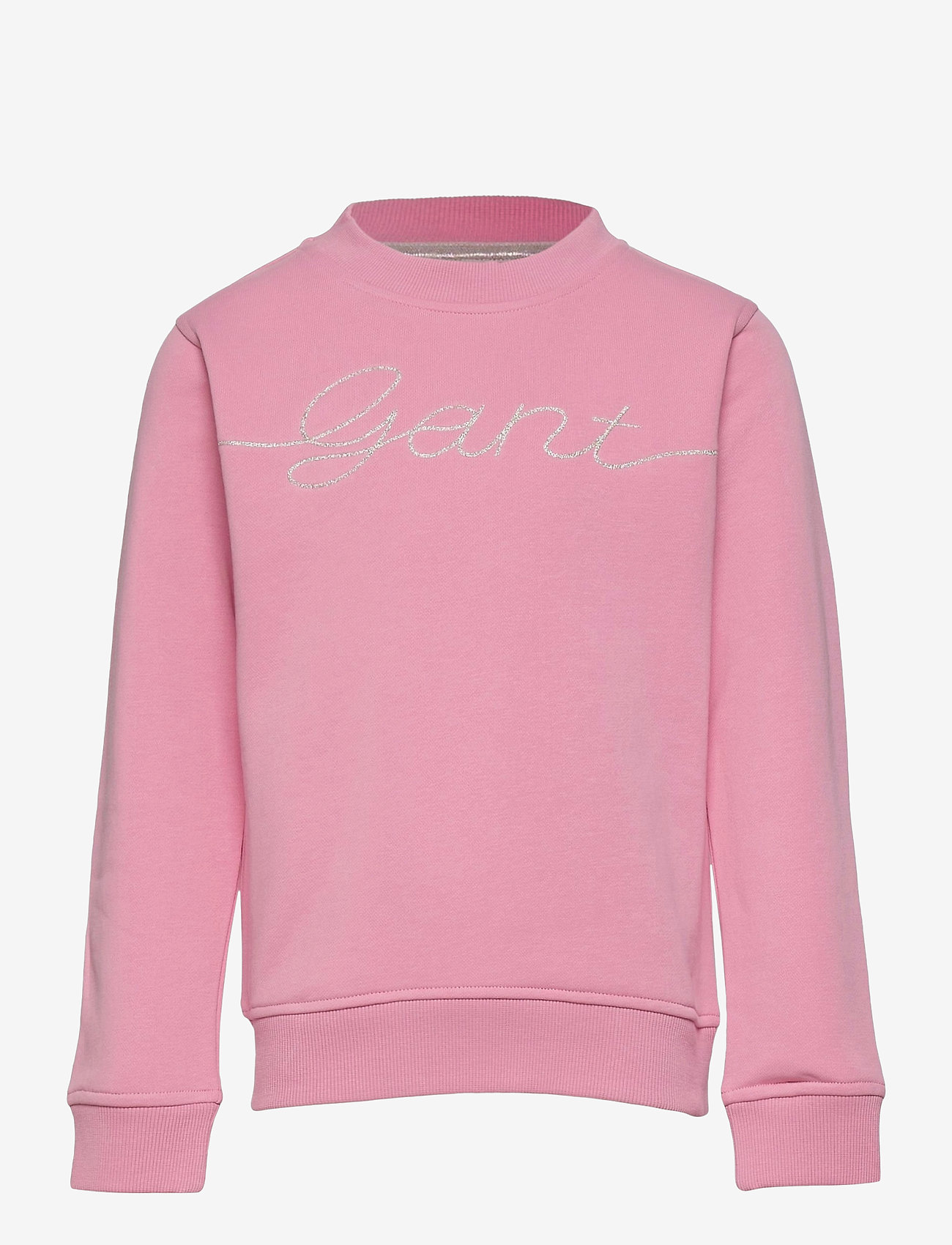 GANT - D2. GANT SCRIPT C-NECK - sweatshirts - sea pink - 0