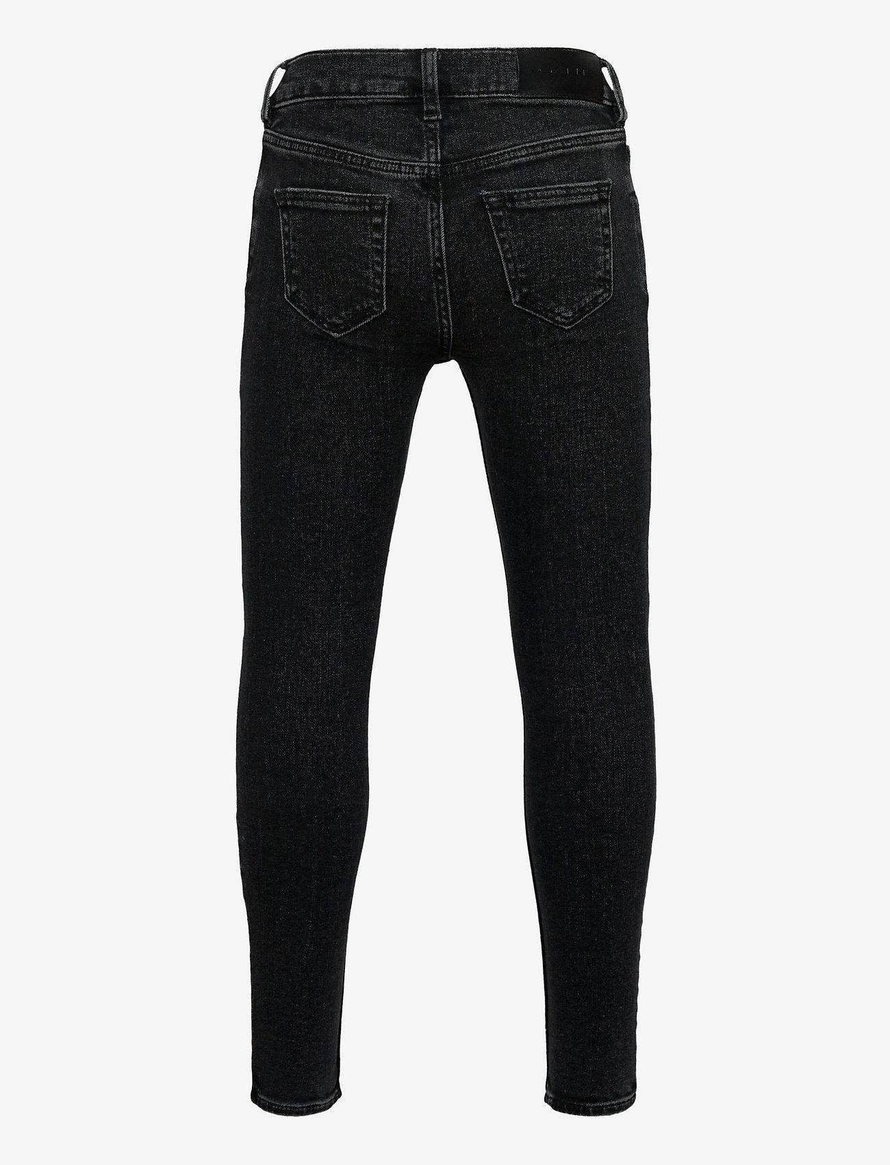GANT - GANT SKINNY JEANS - jeans - black raw - 1