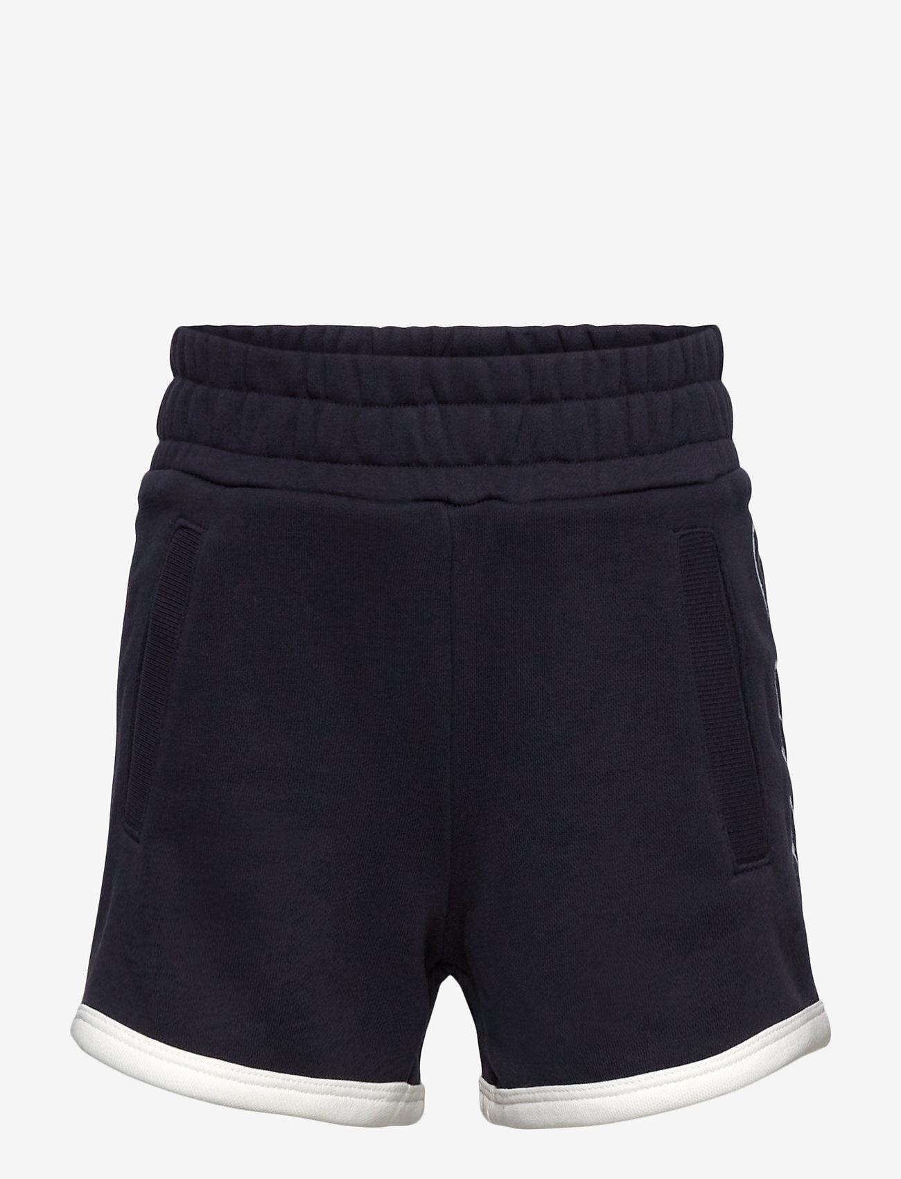 GANT - D1. GANT SCRIPT SWEAT SHORTS - shorts - evening blue - 0