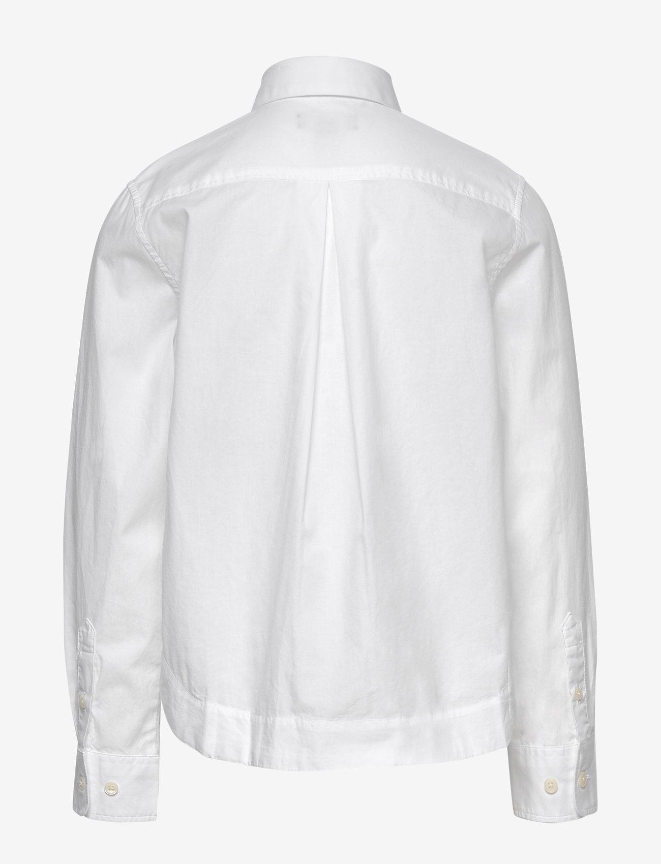 GANT - D1. POPLIN SHIRT - shirts - white - 1
