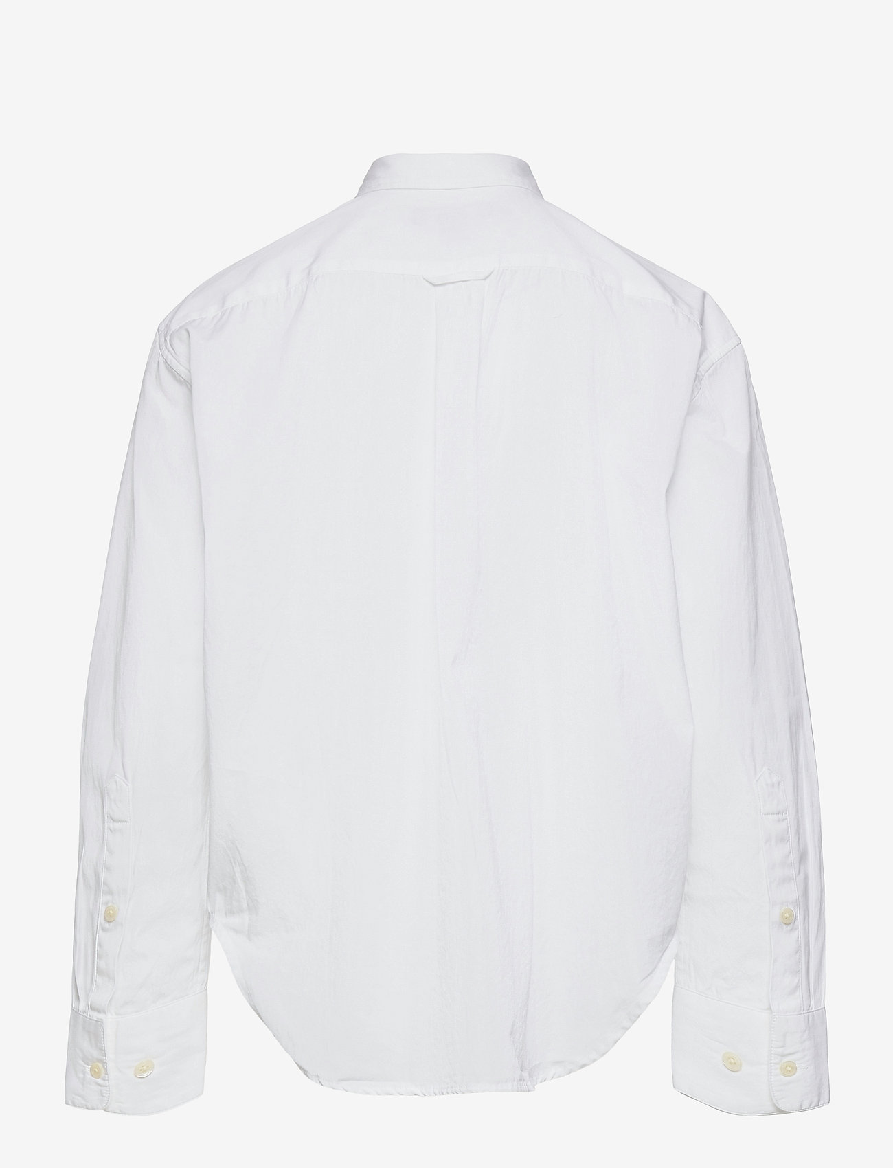 GANT - D1. OVERSIZED POPLIN SHIRT - shirts - white - 1