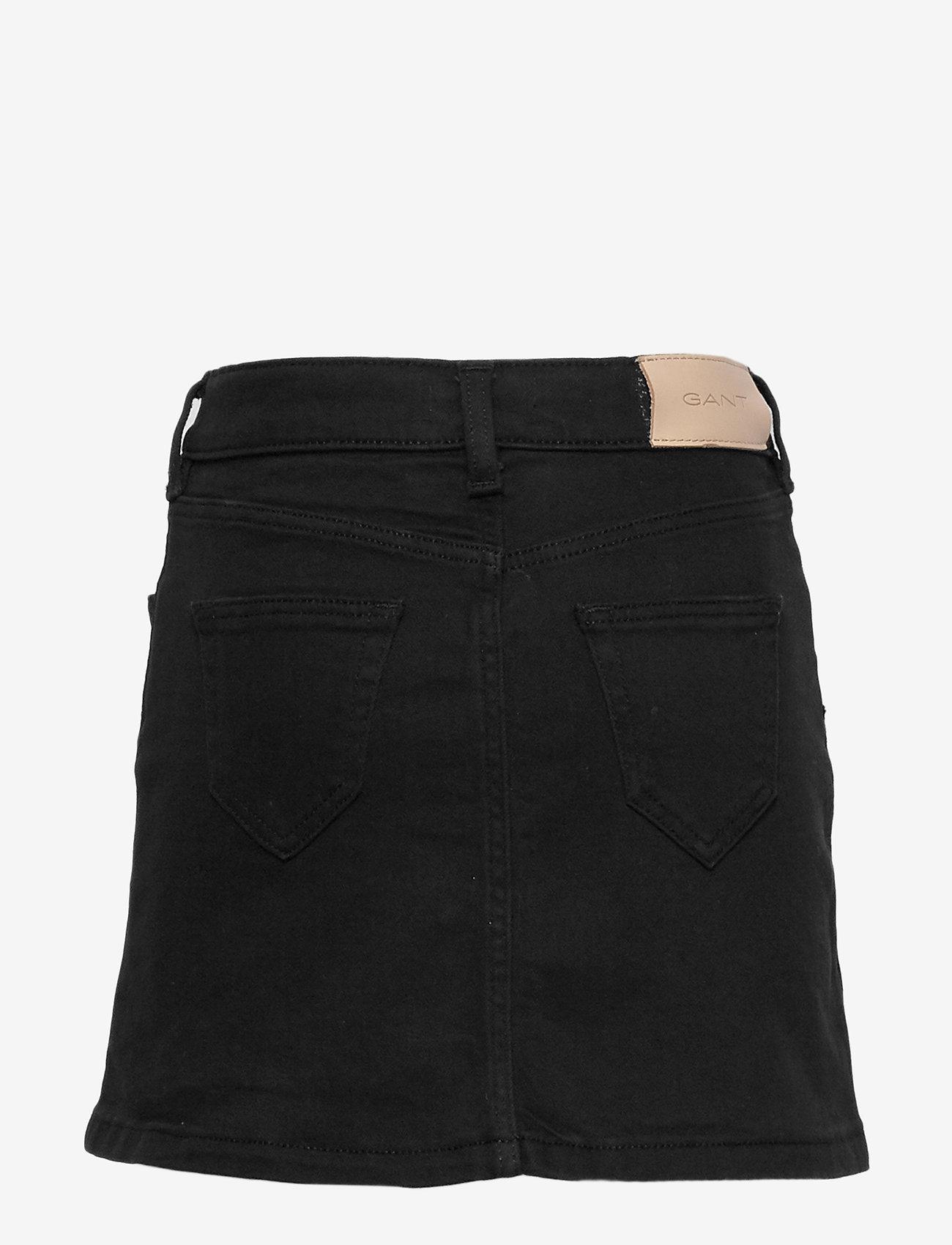 GANT - D1. Twill skirt - skirts - black - 1