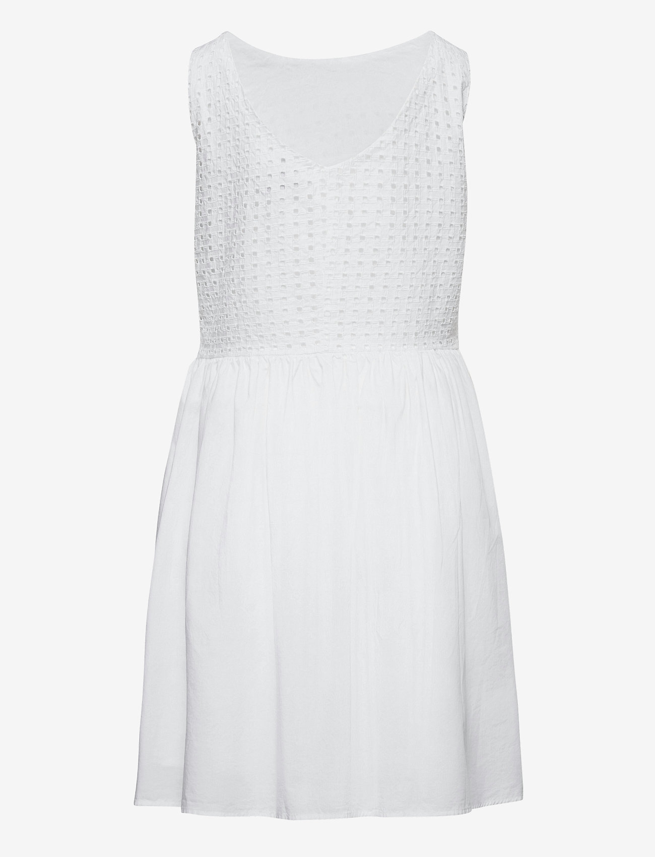 GANT - TG. BROIDERIE ANGLAISE DRESS - kleider - white - 1